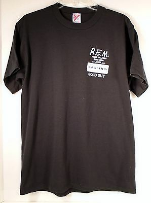 Vintage R.E.M.1989 Who is Harry the Bastard T Shirt L Omni Atlanta Bandit Lites