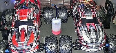 Two T-Maxx Traxxas 3.3s with Bluetooth capabilities