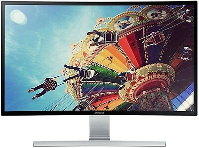 "SAMSUNG 27"" WIDE PREMIUM CURVED LED MONITOR 1920X1080p, MODEL S27D590CS"