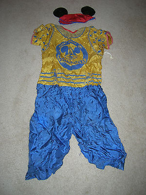 Vintage Children's Mickey Mouse Club Halloween Costume - OLD