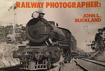 Railway Photographer John L Buckland Softcover Book Water Damaged