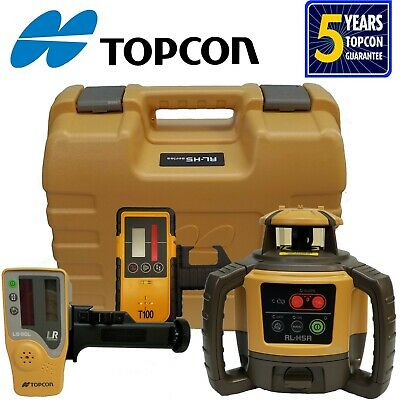 Topcon Model RL-H4C DB (Alkaline) Rotating Laser Level - Priority Mail