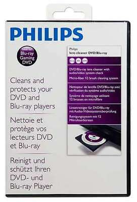 New Philips SVC2340/10 DVD Blu-ray LENS Cleaner Disc