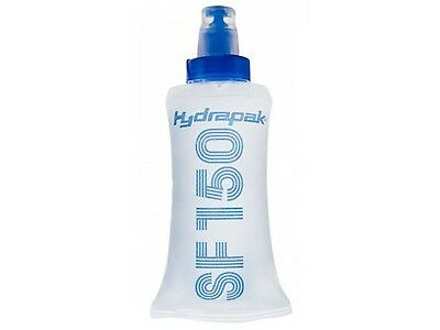 Hydrapak Soft Flask 150 Collapsible Gel Flask 150 Ml (Blue/clear)
