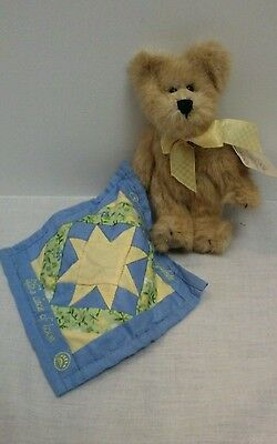 Boyds Bear Plush Grandchildren Complete Life's Circle of Love Quilt