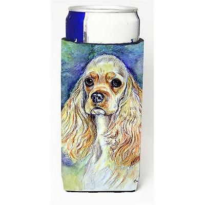 Buff Cocker Spaniel Michelob Ultra bottle sleeves For Slim Cans 12 oz.