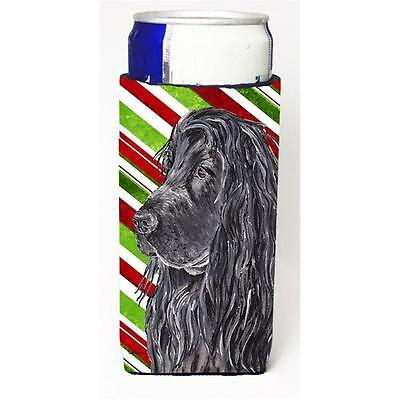 English Cocker Spaniel Candy Cane Christmas Michelob Ultra bottle sleeves For...