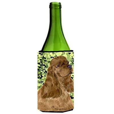 Carolines Treasures SS8807LITERK Cocker Spaniel Wine bottle sleeve Hugger 24 Oz.