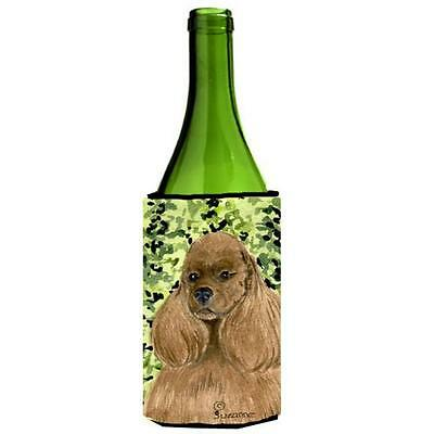 Carolines Treasures SS8809LITERK Cocker Spaniel Wine bottle sleeve Hugger 24 Oz.