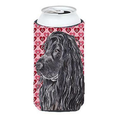 English Cocker Spaniel Valentines Love Tall Boy bottle sleeve Hugger 22 to 24...