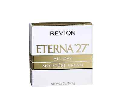 Revlon Eterna 27 All Day Moisture Cream - 2 Oz, 3 Pack Max Factor for Women Xperience Sheer Gloss Lip Balm with SPF 10, Coral