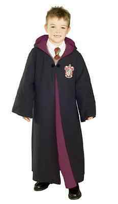 Rubies Costume Deluxe Harry Potter Child's large Robe With Gryffindor Emblem
