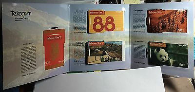 """1995  """"Relections of China"""" Phone Cards LE 500"""