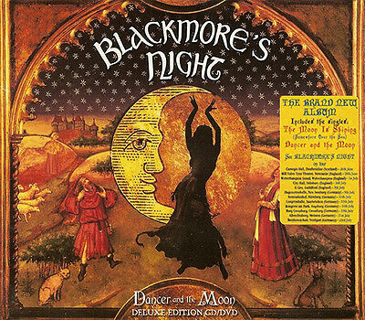 Blackmore's Night - Dancer and the Moon (2013)  Deluxe CD/DVD  NEW  SPEEDYPOST