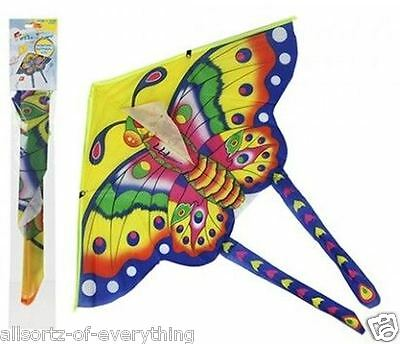 2 x Childrens Butterfly Kite Easy to Fly with carbon rods