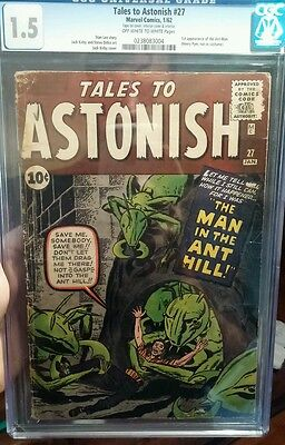 Tales to Astonish #27 CGC 1.5 *Presents Very Nicely! *1st appearance of Ant-Man!