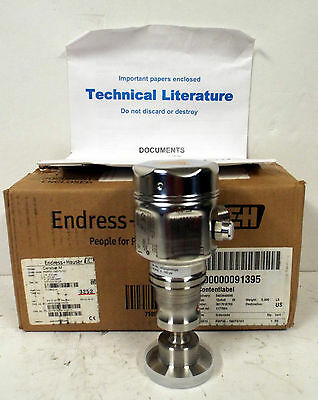 1 New Endress+Hauser Cerabar M Pmp55 Absolute Pressure Transmitter *make Offer*