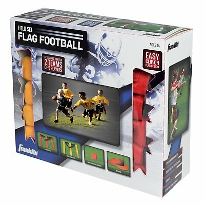 Franklin Sports Flag Football 10 Ten Player Game Set Durable Heavy Duty 11322