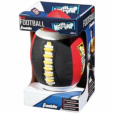 Franklin Sports Easy To  Grip And Throw Tech Mini Football Assorted Colors