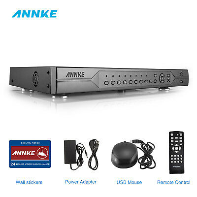 ANNKE 32CH CCTV 720P DVR Video Recorders H.264 P2P eCloud HDMI Home Surveillance