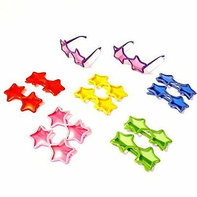 Dazzling Toys Star Shaped Sunglasses - Pack of 12 D143