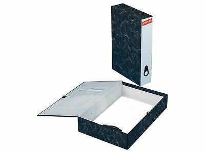10 x  Foolscap Box File / Files / Filing box / staples brand +Free 24 h delivery