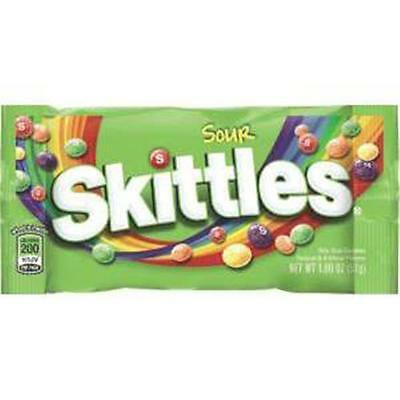 Continental Concession SSKIT24 1.8 Oz. Skittles Sour Singles