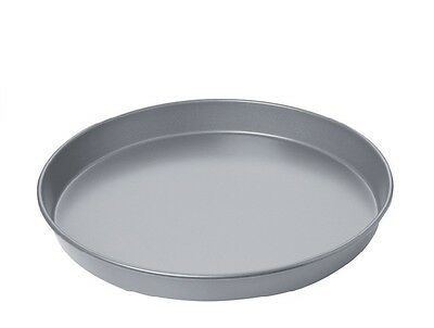 """Heavy Duty Pizza Pan 1.5"""" Deep  Black Iron ( Size 7"""" to 11"""" ) 1.2mm Thickness"""
