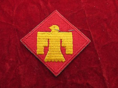 US Army 45th Infantry Division patch with original store tag