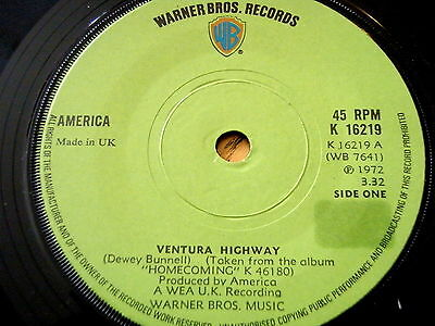America A Horse With No Name 7 Quot Vinyl Record Sleeve