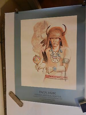 Bien Muir Marketplace Sandia Reservation Buffalo & Indian 1996 by Cleveland