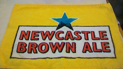 Newcastle Brown Ale Logo Bar Towel, Multi-colored
