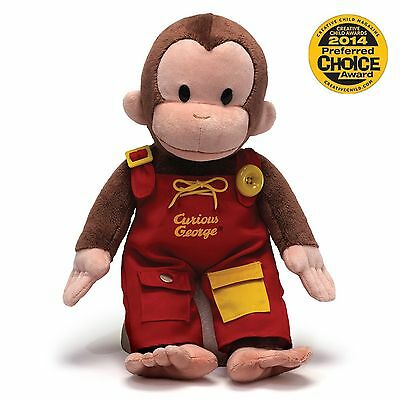 Curious George TEACH ME 16 inch Plush Stuffed Animal Monkey GU4042871