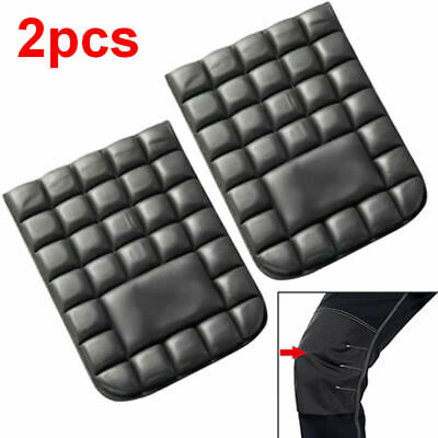 2pcs Work Wear Knee Pads for Trousers Pants Bib + Brace Overalls Boiler Suits
