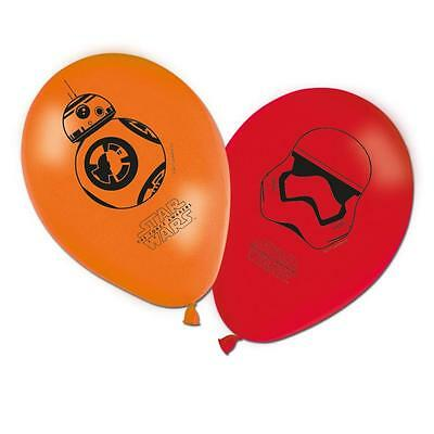 STAR WARS DISNEY BALLOONS - FORCE AWAKENS - Choose quantity - CHILDRENS PARTY
