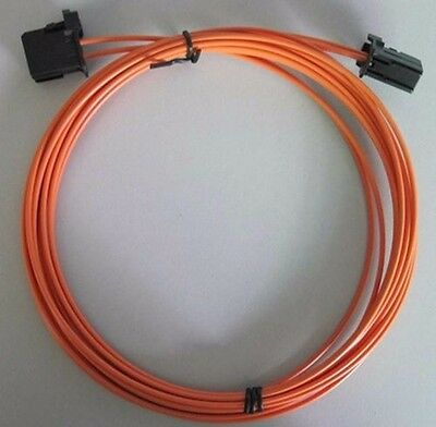 MOST fiber optic optical cable male to male for BMW Mercedes Audi Porsche 4M 13'
