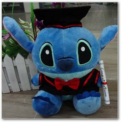 Stitch graduation honoris causa peluche disney