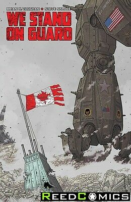 WE STAND ON GUARD DELUXE HARDCOVER Hardback Collect Issues #1-6 by Brian Vaughan