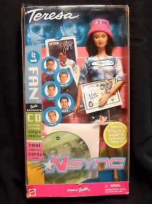 NIB Teresa doll /With NSYNC CD