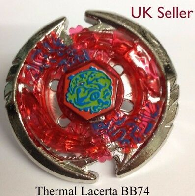 Thermal Lacerta Masters 4D Beyblade BB74 - UK SELLER
