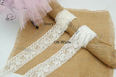 "2m ""Elastic trim  (4.8cm wide, Off-white)""Great for DIY Baby Headband Kit* Craft"