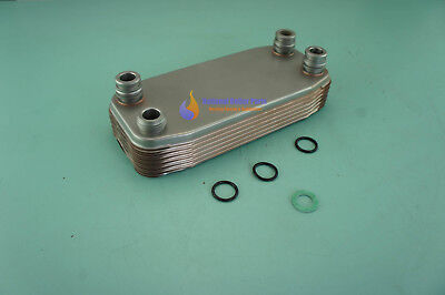 VAILLANT TURBOMAX PRO 28//2 E VUW 282//2-3 DHW PLATE HEAT EXCHANGER 189mm 065131