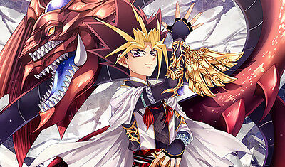 F181 Free Mat Bag YUGIOH Yugi Slifer the Sky Dragon Playmat Custom Made Play Mat