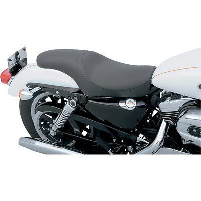 Drag Specialties Smooth Predator Seat for 04-14 Harley Sportster XL