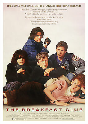 The Breakfast Club (1985) - A1/A2 POSTER **BUY ANY 2 AND GET 1 FREE OFFER**