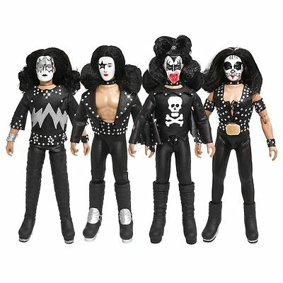 KISS 8 Inch Action Figures Series Two Complete Set of all 4 (Loose)