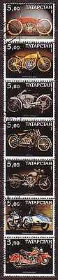 Motorcycle 7 stamps MOTO17