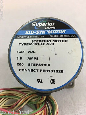 Lot/2* New* Superior Slo-Syn / Electric Motor, Stepping Motor M061-Le-529