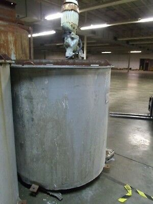 425 Gallon Stainless Steel Mixing Tank with Mixer Agitator