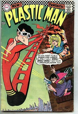 Plastic Man #3-1967 vg/fn Joe Orlando Win Mortimer